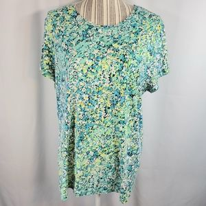 St. John's Bay Floral Tee Size 2X
